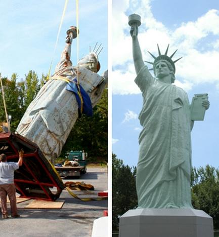 Statue de la Liberté = les répliques découvertes grâce à Google Earth - Page 2 Brookl11