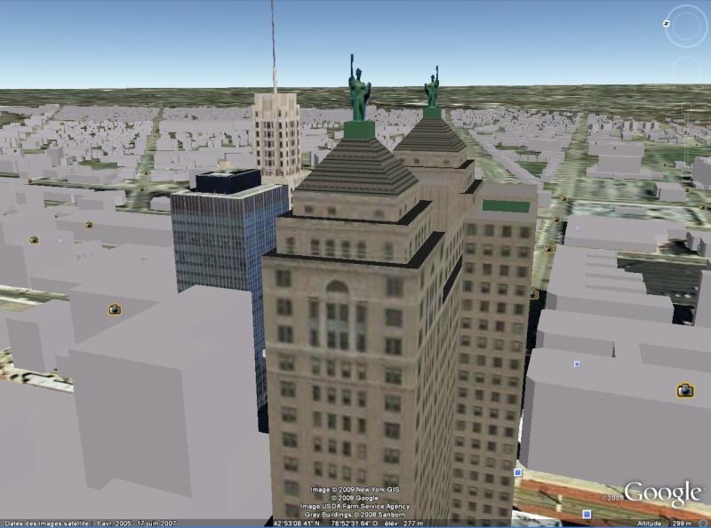 Statue de la Liberté = les répliques découvertes grâce à Google Earth - Page 3 Buffal10
