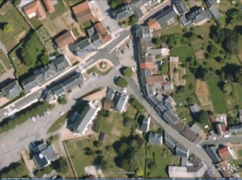 Statue de la Liberté = les répliques découvertes grâce à Google Earth Chatea10