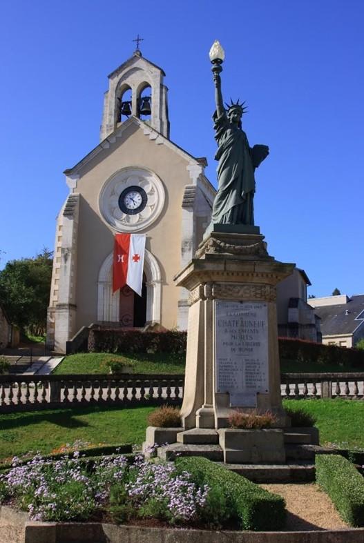 Statue de la Liberté = les répliques découvertes grâce à Google Earth Chatea11