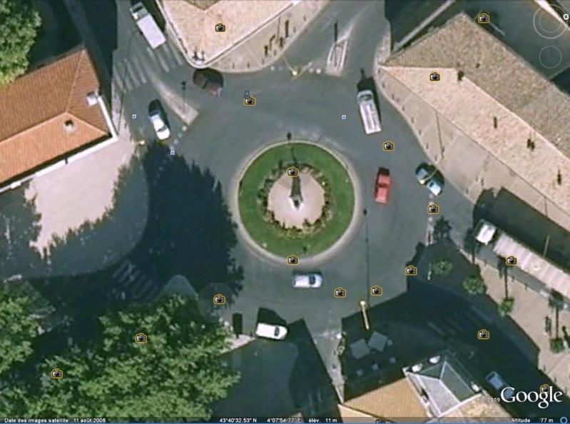 Statue de la Liberté = les répliques découvertes grâce à Google Earth Sllune10