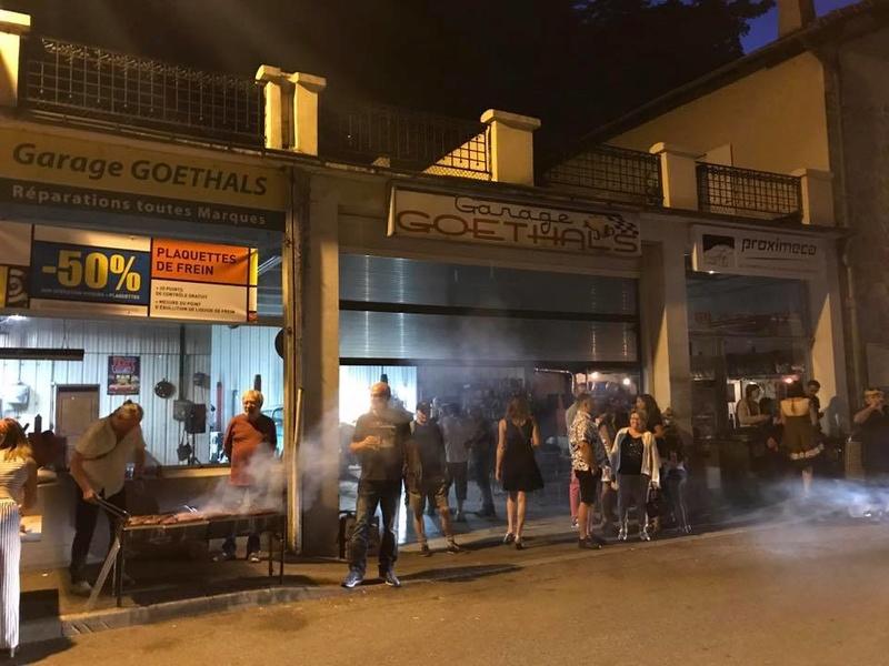 Garage & Pic Nic Party vals les bains 14,15, 16 juillet 2017 19989610