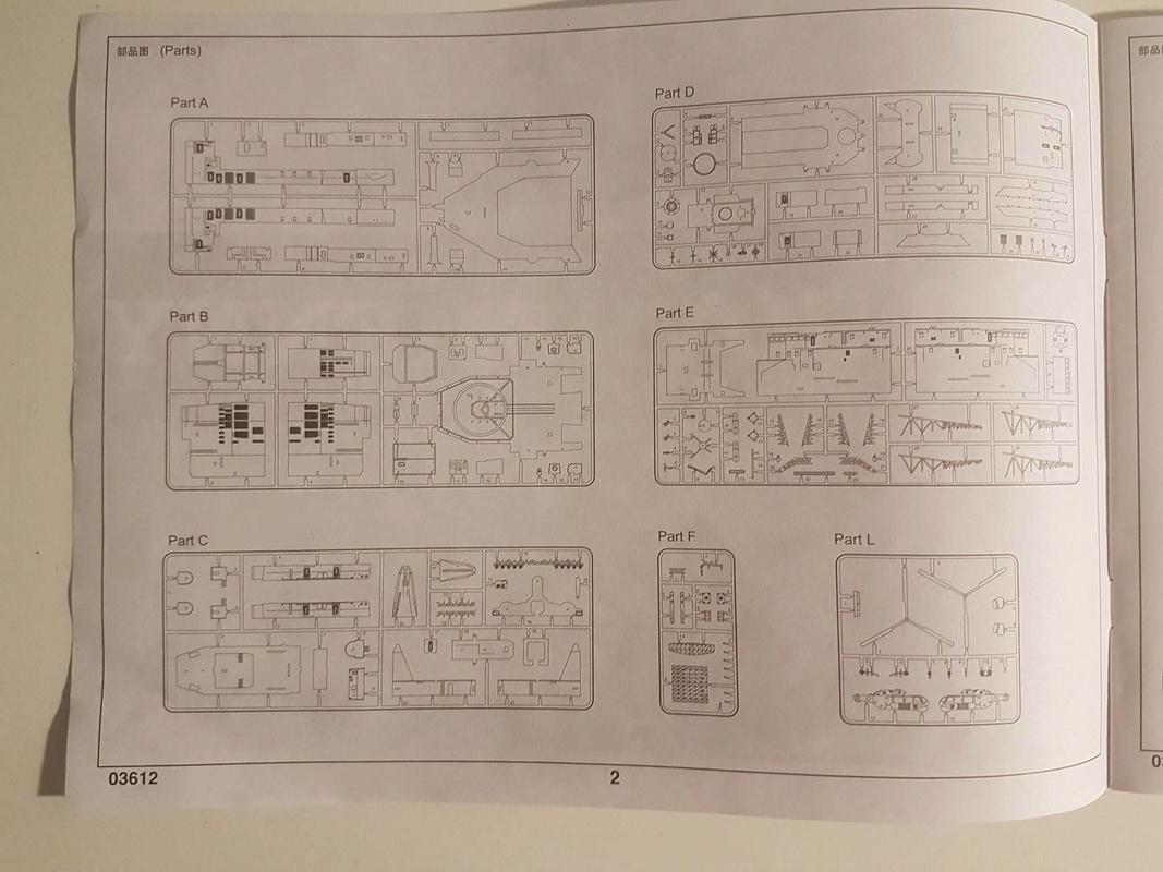 Destroyer de classe Sovremenny Trumpeter 1/200 + Tourelle résine et PE...  20216411
