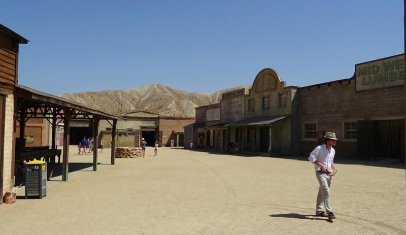 Retour à Almeria: les fantômes de Mesa Verde et d'El Paso 12-20110
