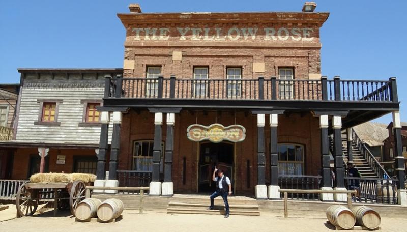 Retour à Almeria: les fantômes de Mesa Verde et d'El Paso 14-20110