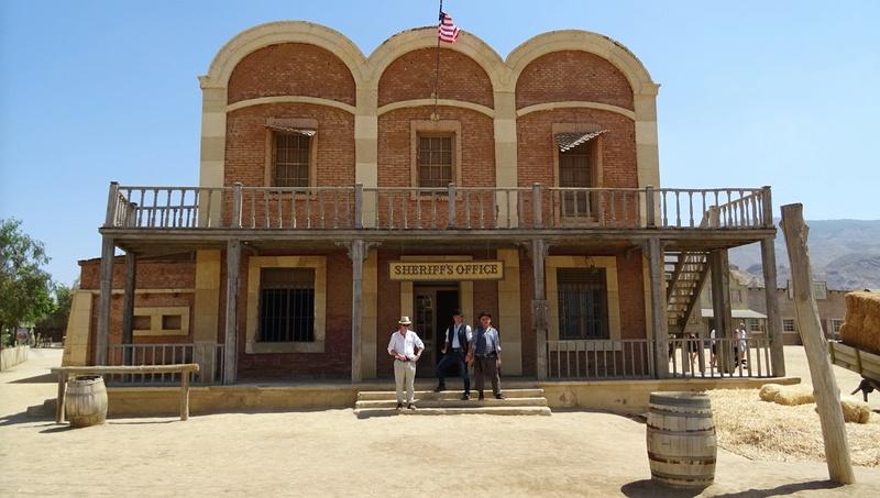 Retour à Almeria: les fantômes de Mesa Verde et d'El Paso 19-20110