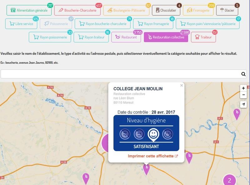 (nouveau) carte interactive sur les résultats des contrôles officiels réalisés en matière de sécurité sanitaire des aliments  Sans_t10