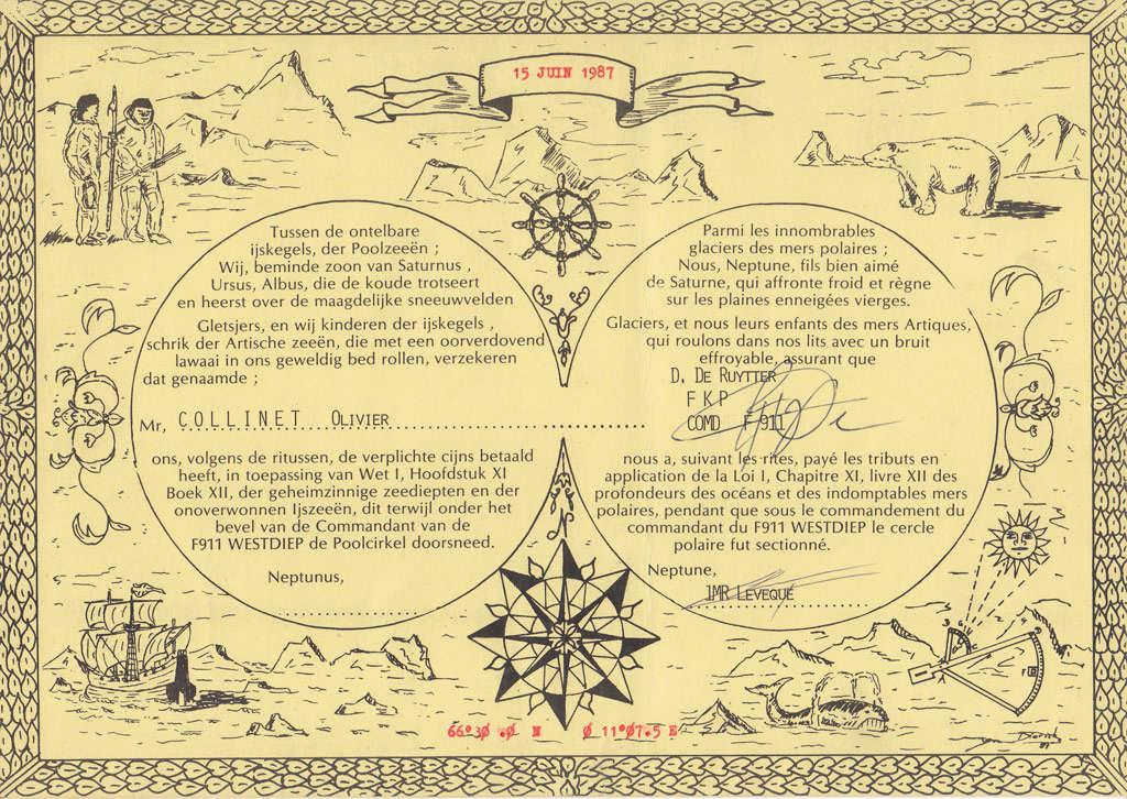Traditions et rituels à bord des bacs de la Force Navale Cercle10