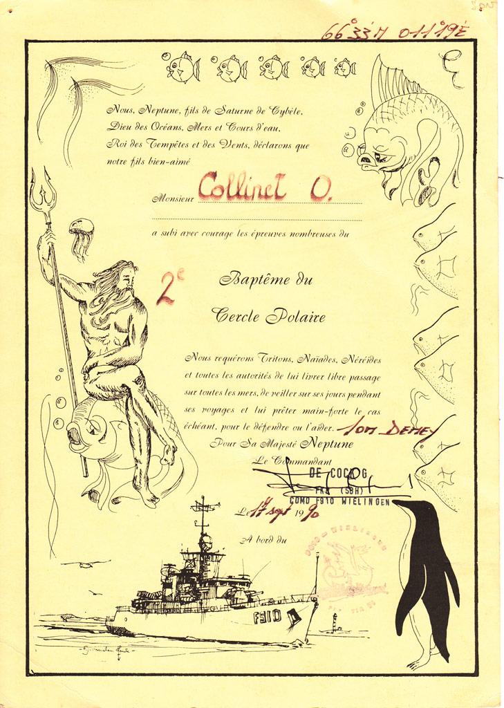 Traditions et rituels à bord des bacs de la Force Navale Cercle11