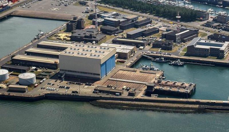 Hangar à navires base de Zeebrugge Hangar10