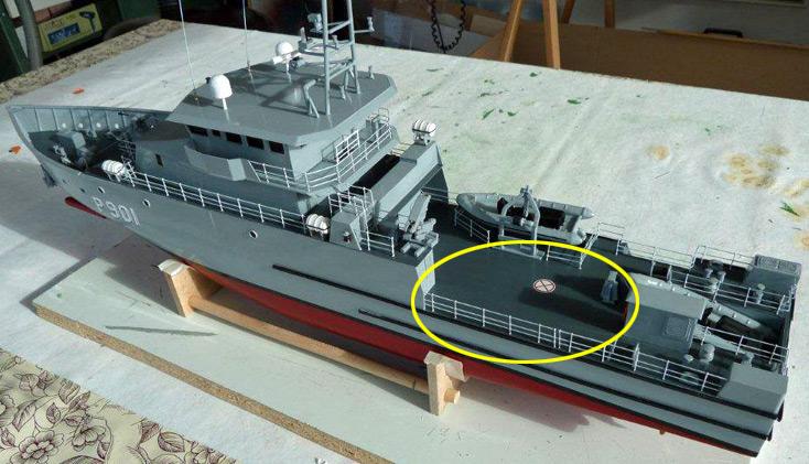 Nos 2 patrouilleurs seront-ils équipés d'un drone volant ? P901ma10