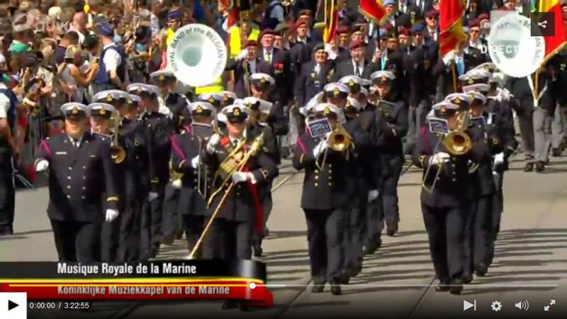 Défilé militaire du 21 juillet 2017 Zeebru18