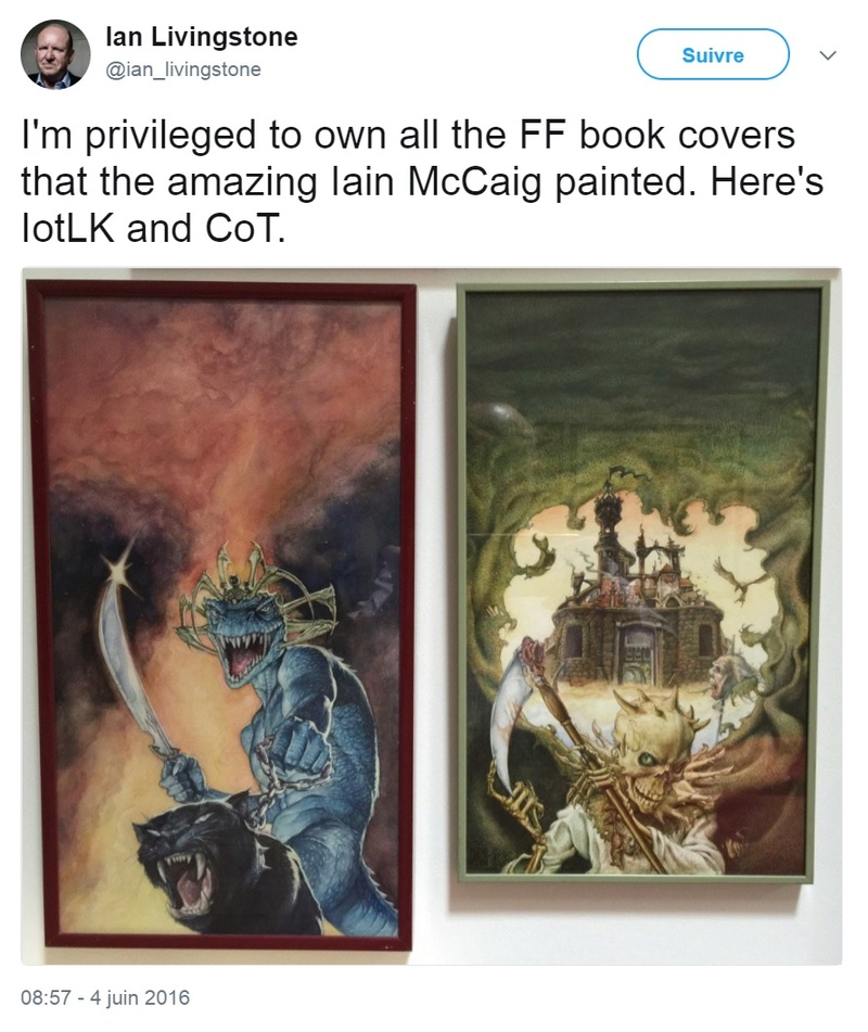Peintures originales des couvertures Ian10