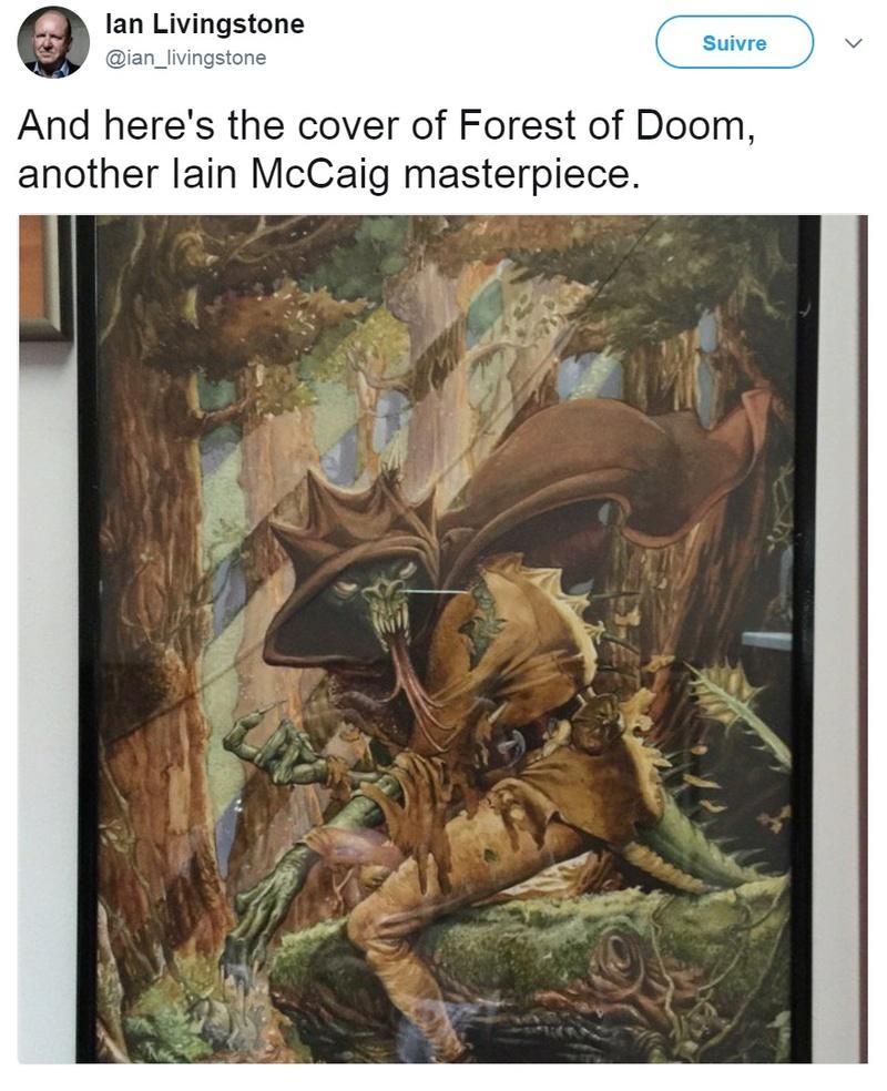 Peintures originales des couvertures Tw10