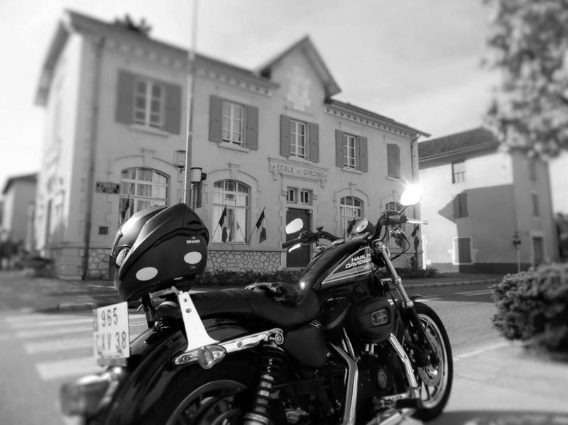 Mes autres !!! (Honda CB350, Harley 883) C210