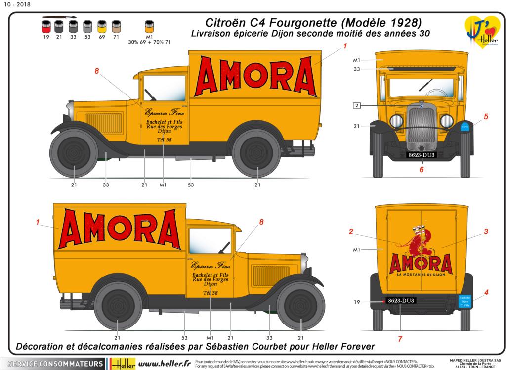 Citroen C4 Fourgonnette 1928 (ref 80703 ) réédition 2018 - Page 2 80703-19