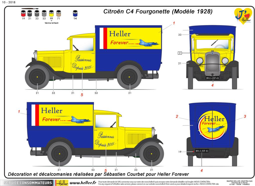 Citroen C4 Fourgonnette 1928 (ref 80703 ) réédition 2018 - Page 2 80703-20