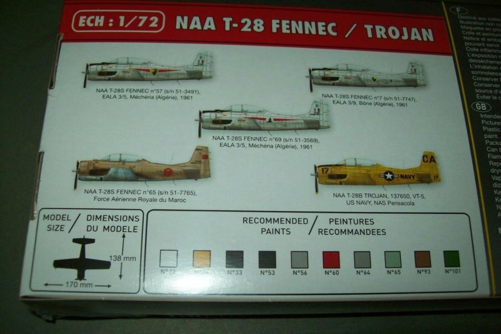 North American T28 Fennec / Trojan (Ref 80279 - 1/72e) Boite_12