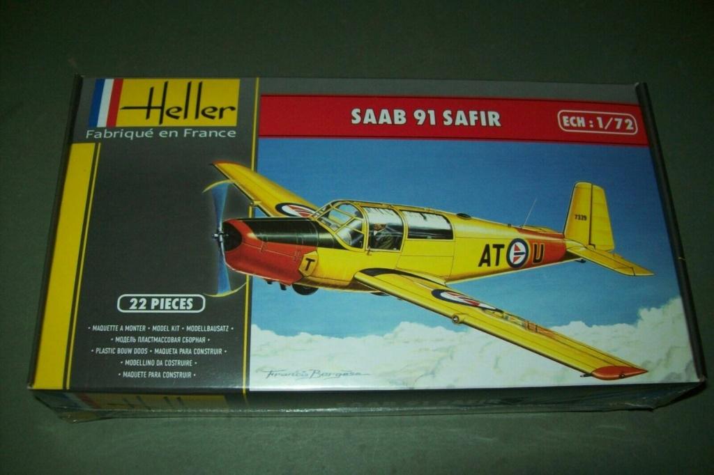 SAAB 91 C SAFIR SF-6 Ecole de pilotage de l'armée de l'air finlandaise 1970 Réf 80287  Boite_15