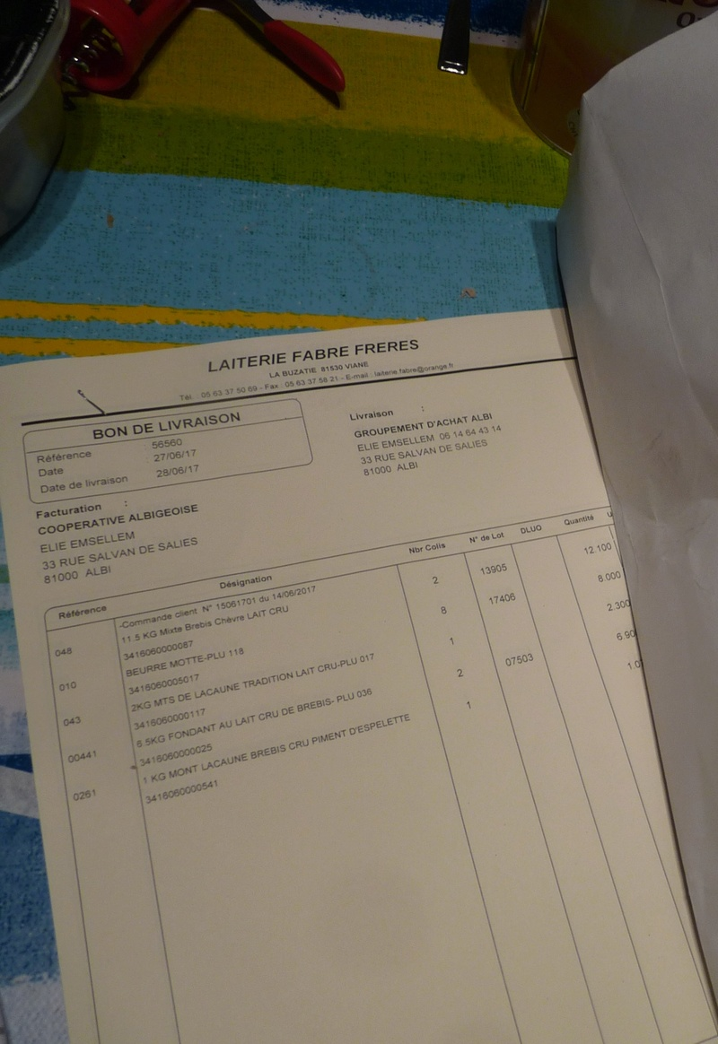 ACHAT GROUPE FROMAGES DE LAC AUNE FABRE  - Page 3 P1340416