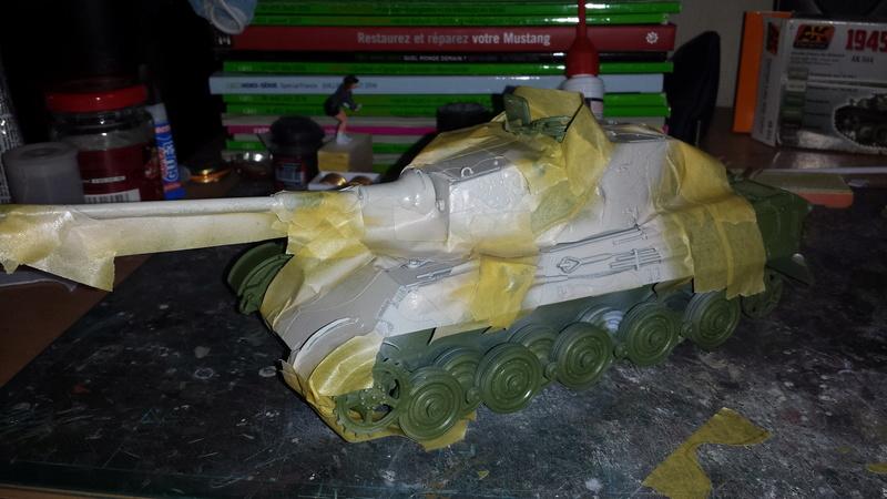 Tiger II, essais cam fin de conflit 20170910