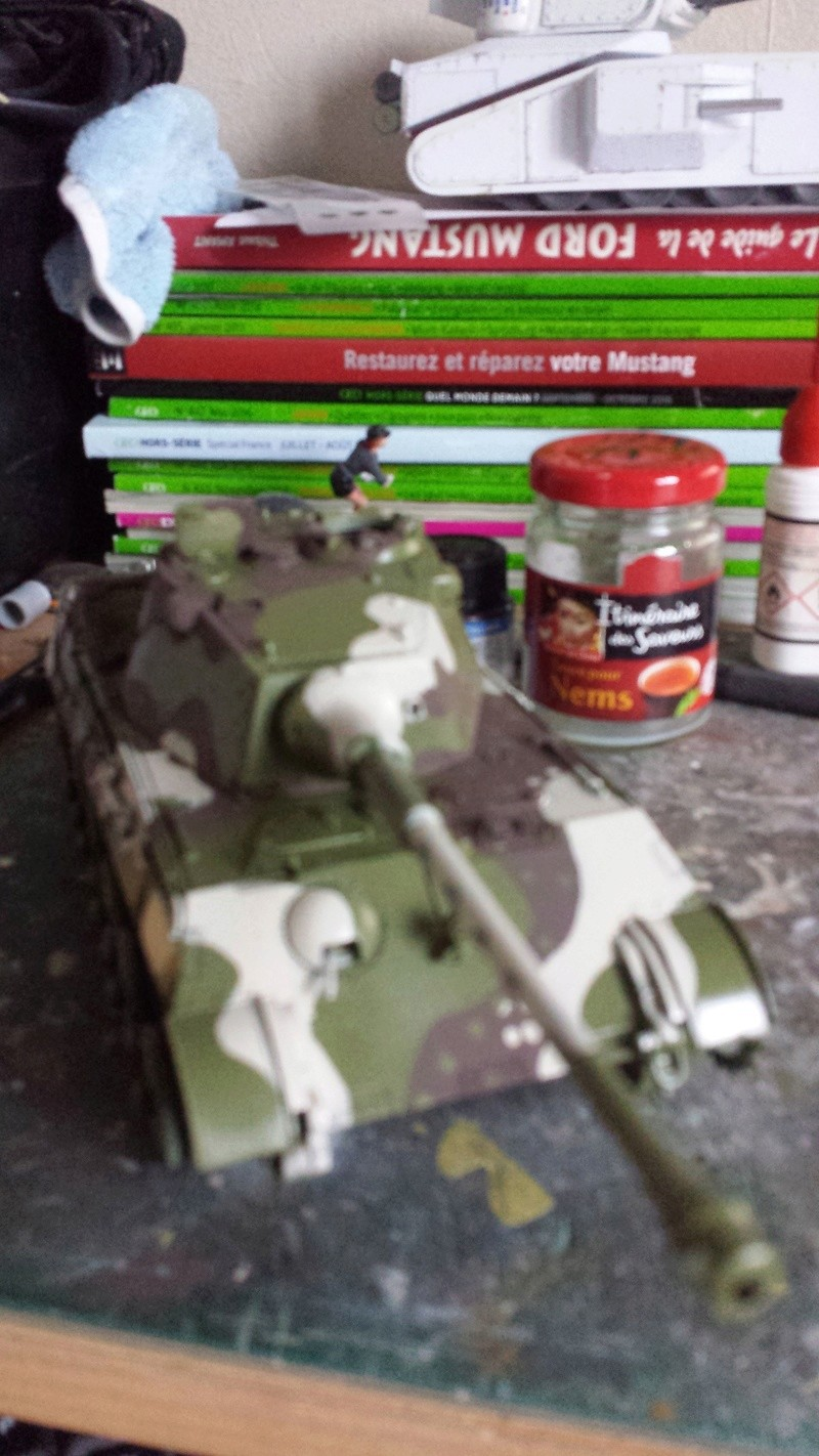 Tiger II, essais cam fin de conflit 20170911