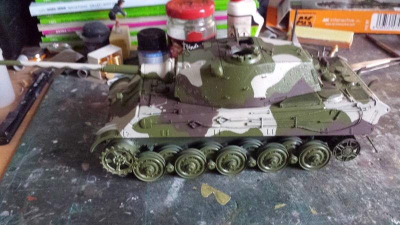 Tiger II, essais cam fin de conflit 20170912