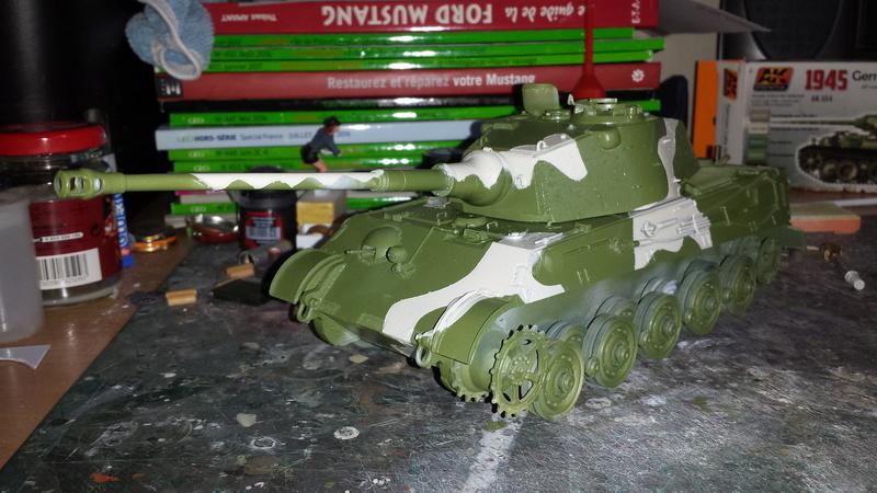 Tiger II, essais cam fin de conflit 20170913