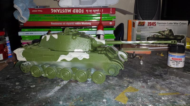 Tiger II, essais cam fin de conflit 20170914