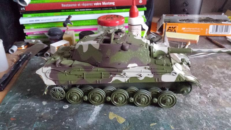 Tiger II, essais cam fin de conflit 20170915