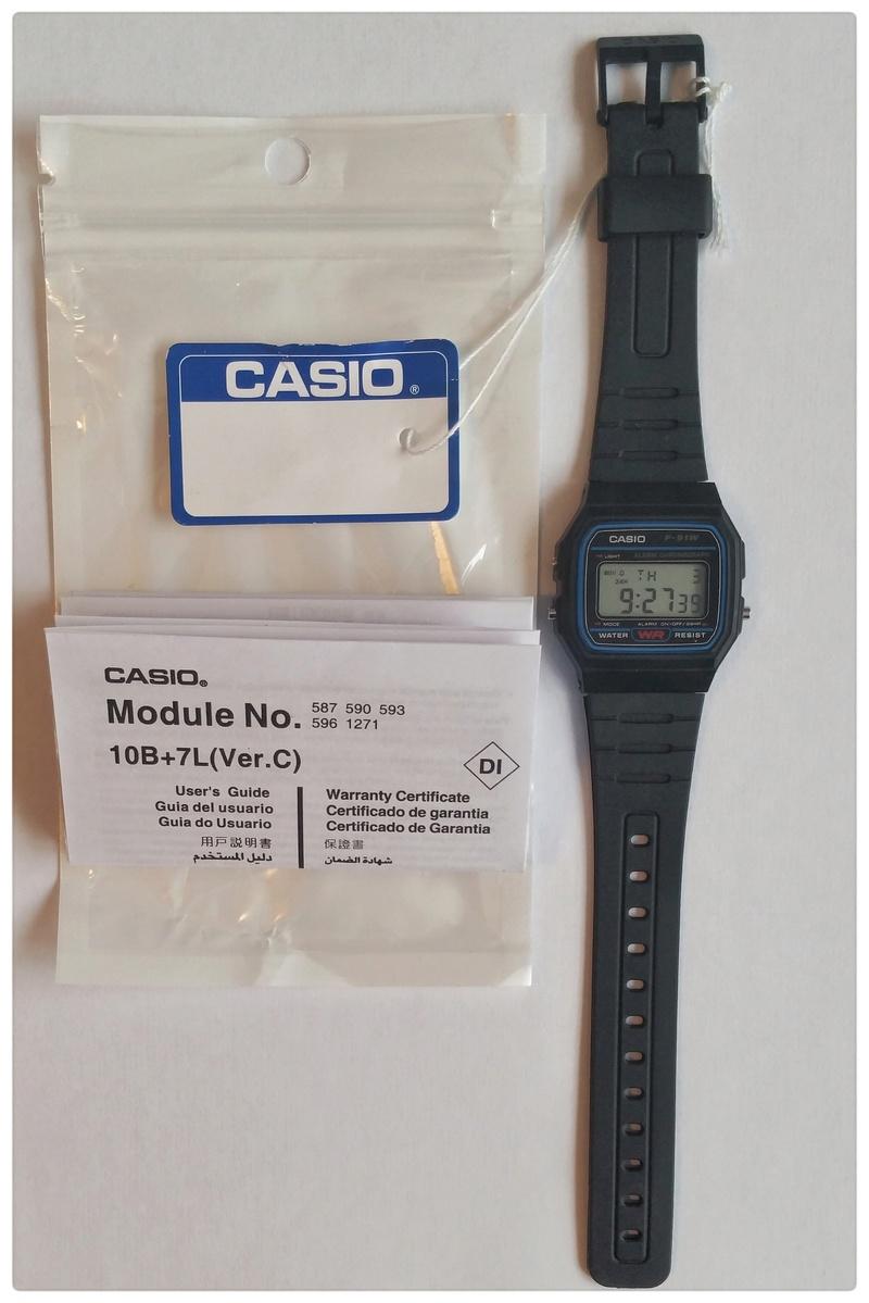 Casio F-91 W  Copy or not Copy ? 20170811