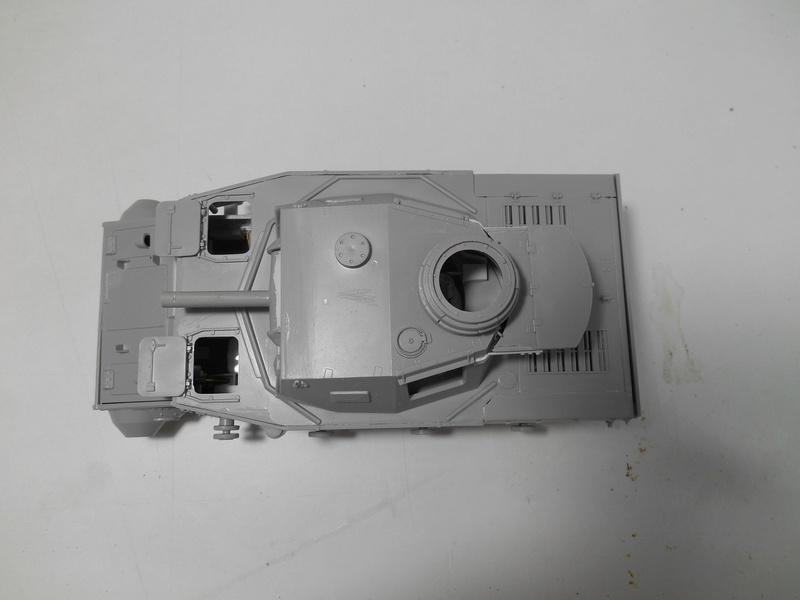 Un moment d'arrêt sur l'inutile... - Panzer IV - Italeri - 1/35e R40-pz19