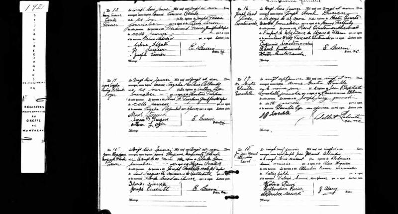 3 fois les mêmes ancêtres Gratia10