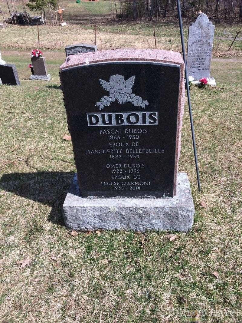Date du mariage d'Ovide Dubois et Marguerite Bleau Pierre10