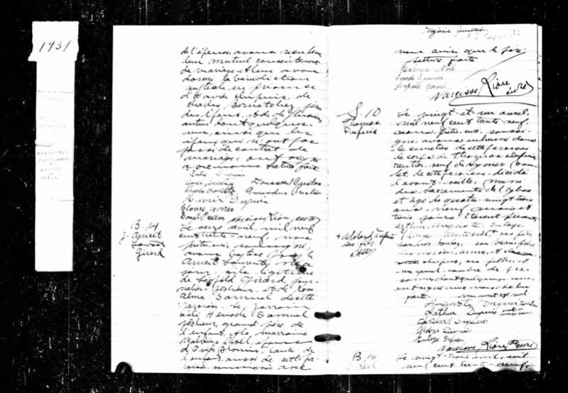 Recherche décès de Thomas Dupuis Couillard ? Thomas10