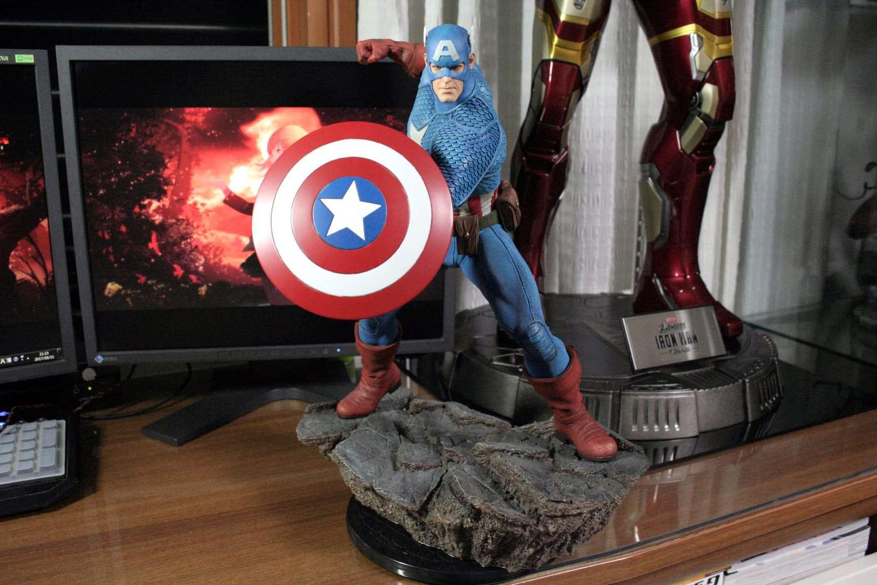 CAPTAIN AMERICA– Avengers Assemble Statue 20448910