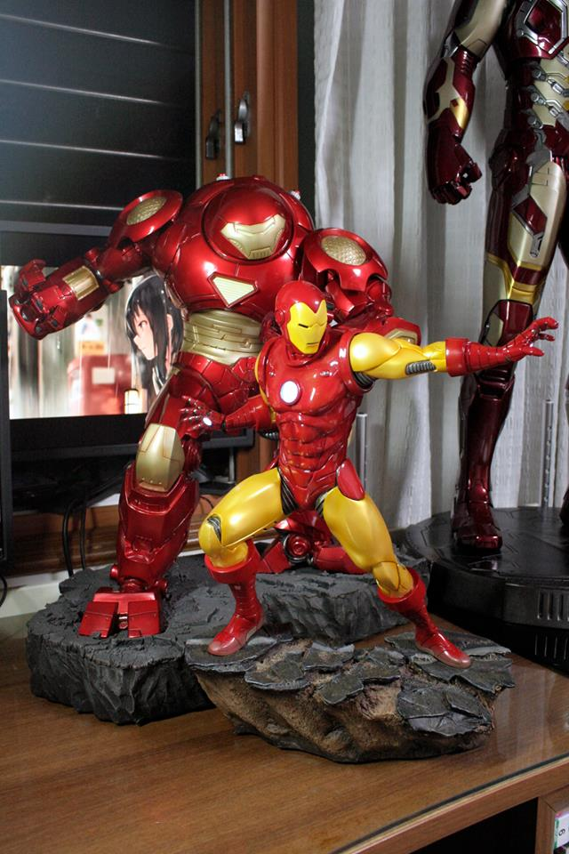 IRON MAN– Avengers Assemble Statue 20842011