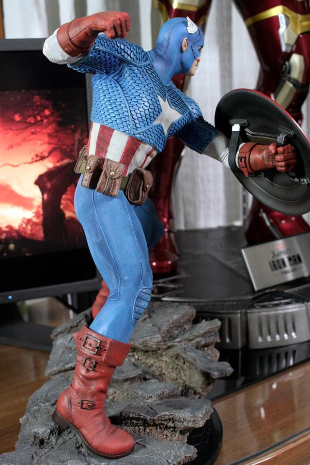 CAPTAIN AMERICA– Avengers Assemble Statue 21150211