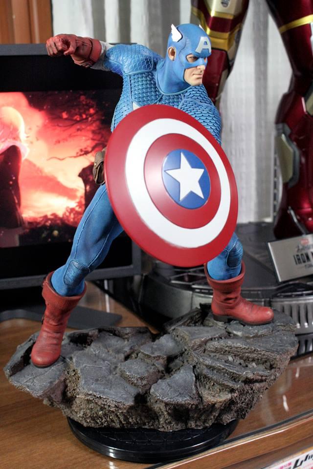 CAPTAIN AMERICA– Avengers Assemble Statue 21150410