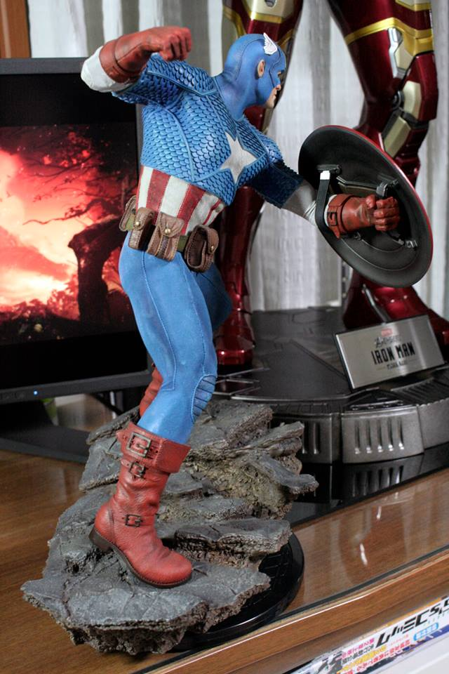 CAPTAIN AMERICA– Avengers Assemble Statue 21151510