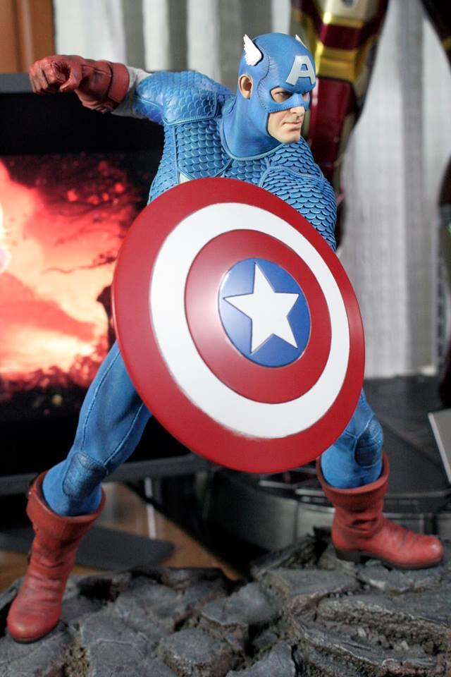 CAPTAIN AMERICA– Avengers Assemble Statue 21151710