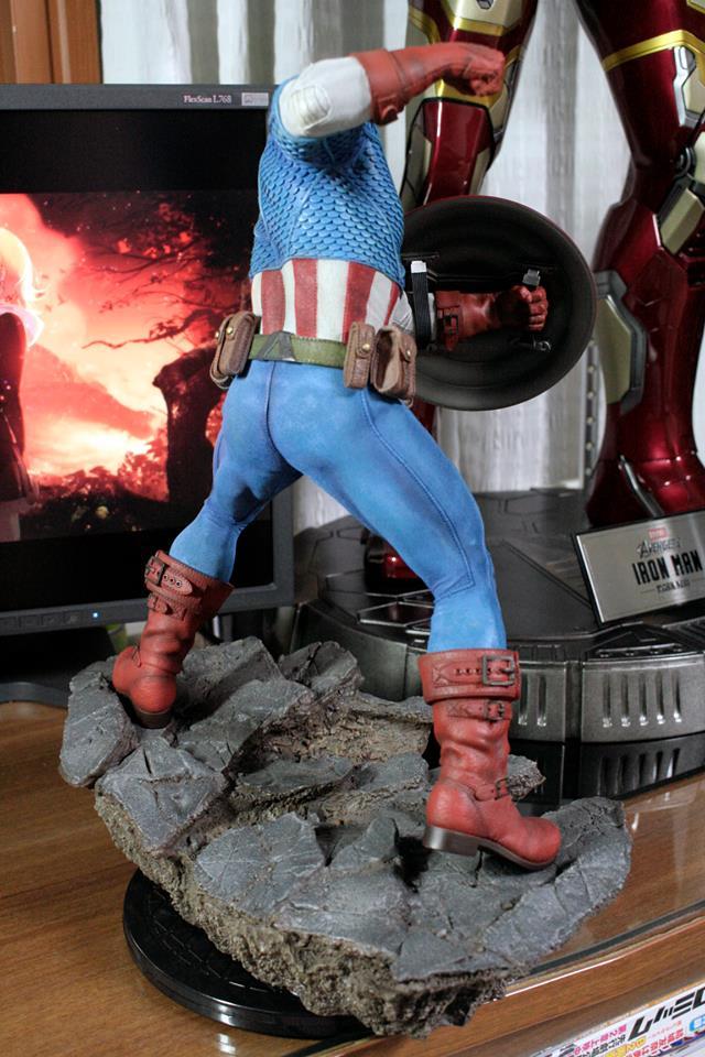 CAPTAIN AMERICA– Avengers Assemble Statue 21191810