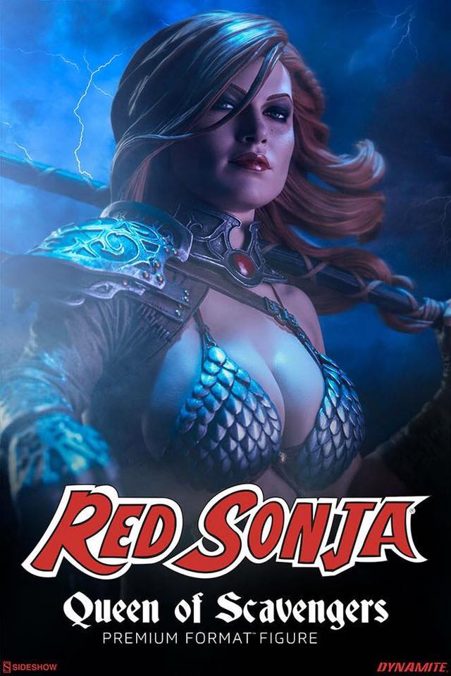 RED SONJA ' Queen Of Scavengers '  Premium Format 2017  - Page 3 21192111