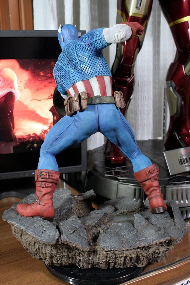 CAPTAIN AMERICA– Avengers Assemble Statue 21192610
