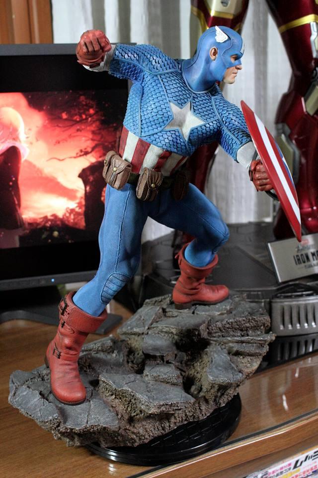 CAPTAIN AMERICA– Avengers Assemble Statue 21192710