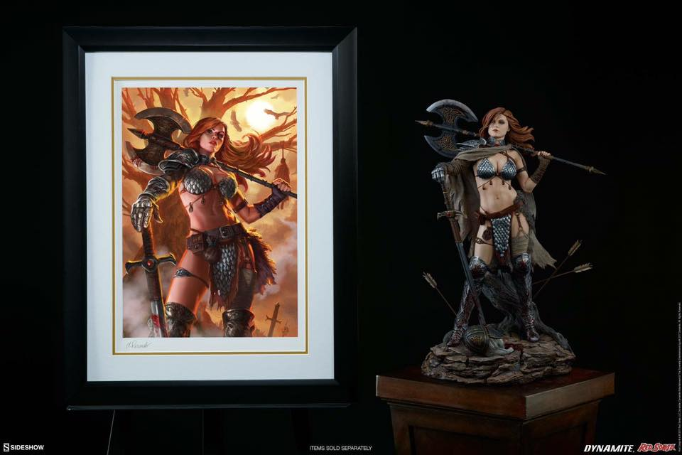 RED SONJA ' Queen Of Scavengers '  Premium Format 2017  - Page 3 21230811