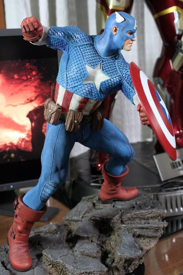 CAPTAIN AMERICA– Avengers Assemble Statue 21272210