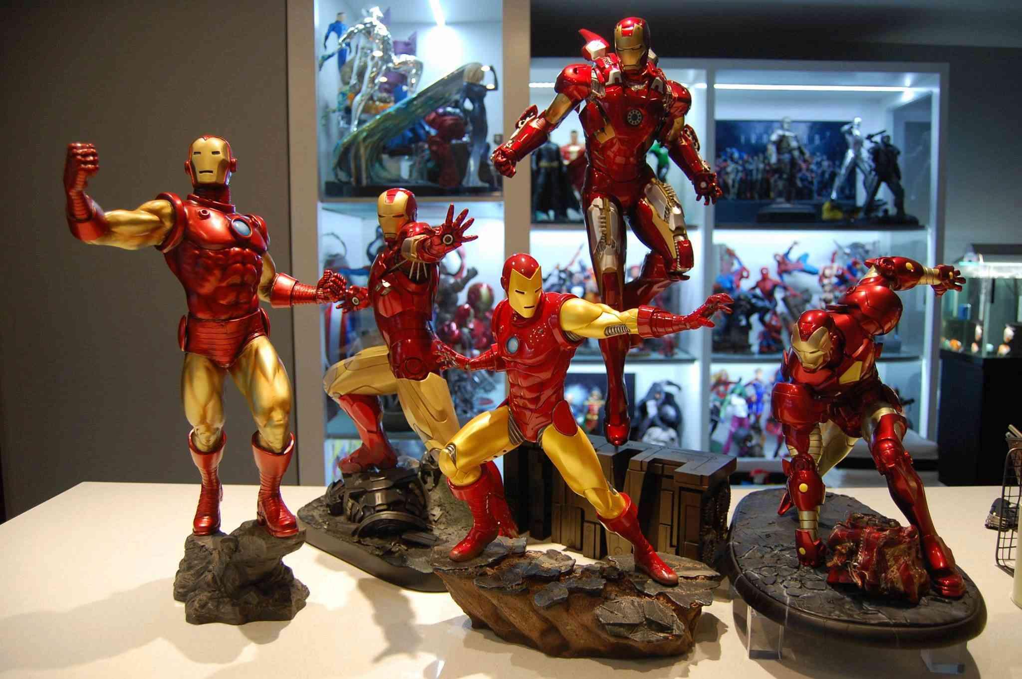 IRON MAN– Avengers Assemble Statue 21273110