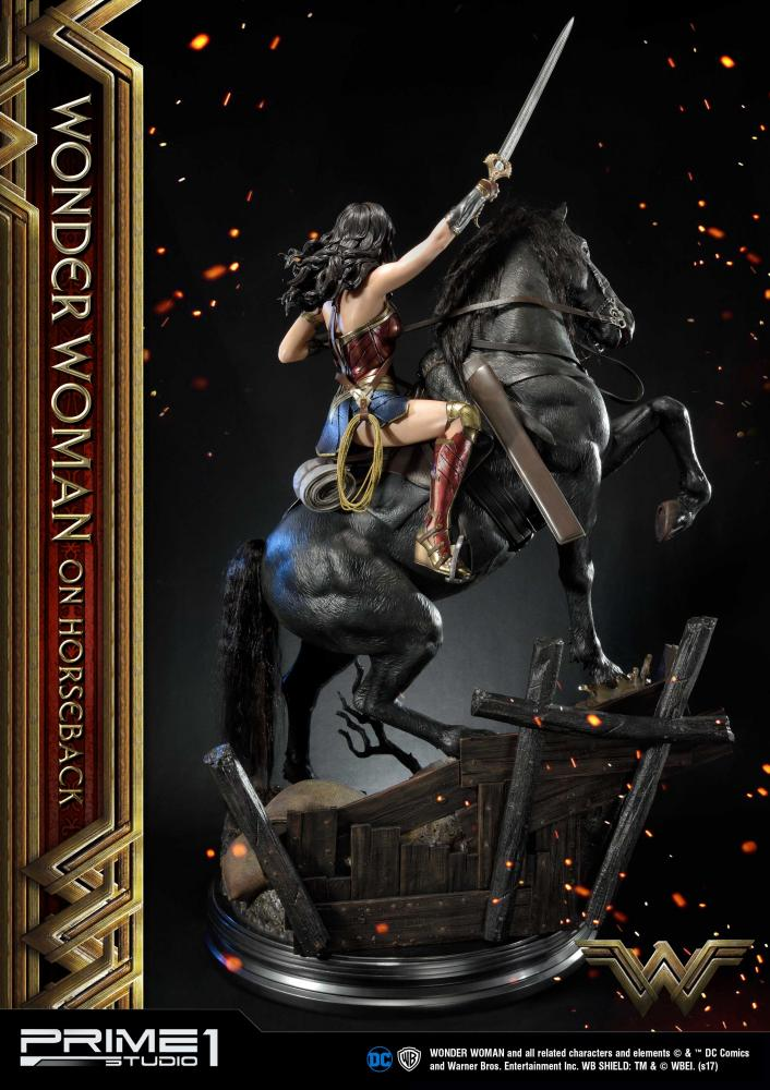 DC Comics - Wonder Woman Movie : Wonder Woman On Horseback 1/3 Scale Museum Masterline statue Aww510
