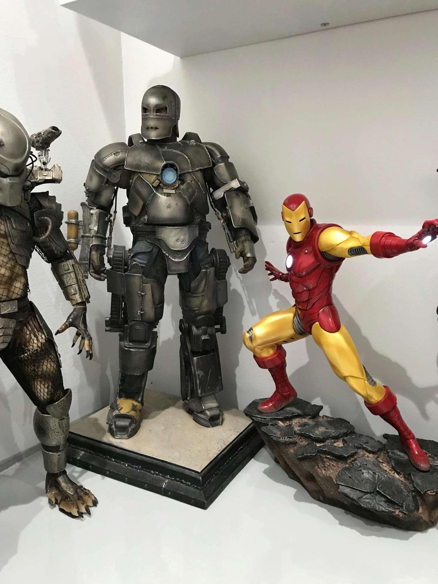 IRON MAN– Avengers Assemble Statue Img_5911